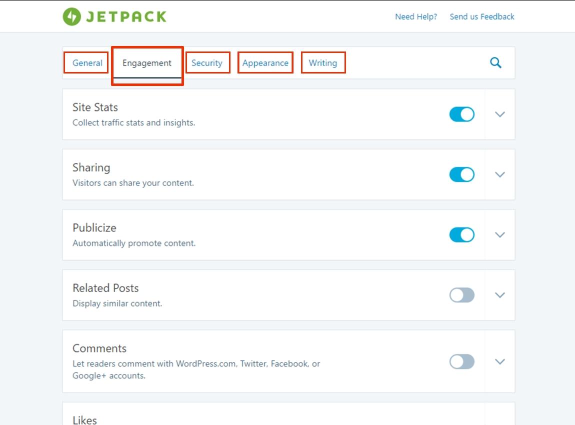 افزونه jetpack برای بهبود کارایی و افزایش امکانات وردپرس