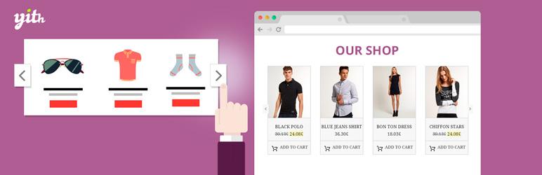 اسلایدر محصولات ووکامرس به صورت چرخشی ( YITH WooCommerce Product Slider Carousel )