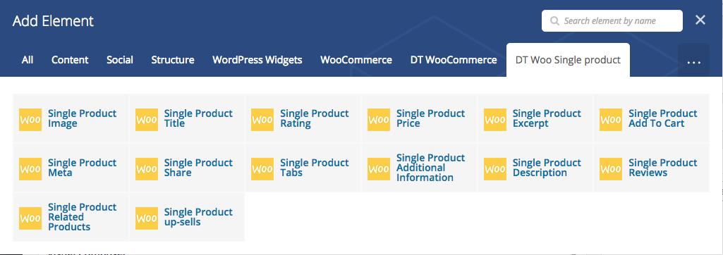 افزونه صفحه ساز ووکامرس woocommerce page builder