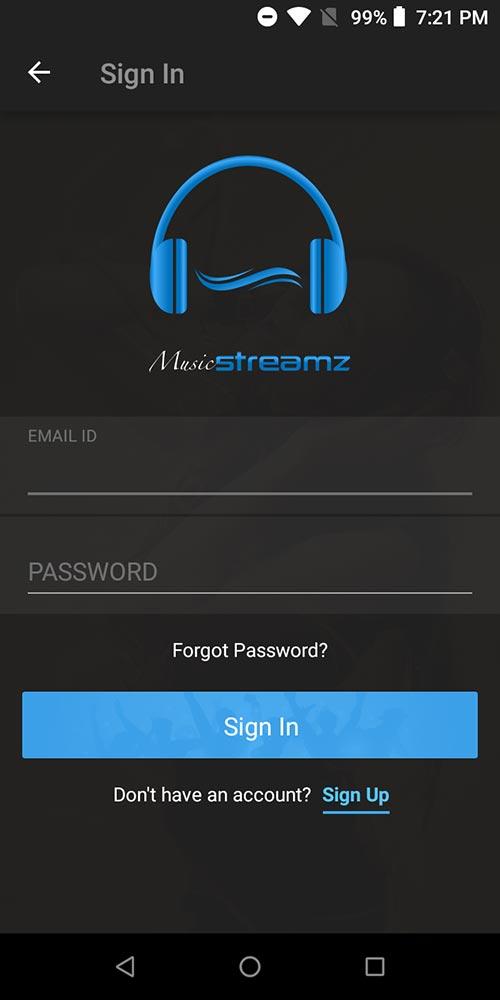 اسکریپت ساخت اپلیکیشن آندروید دانلود موزیک streamz نسخه 1.0