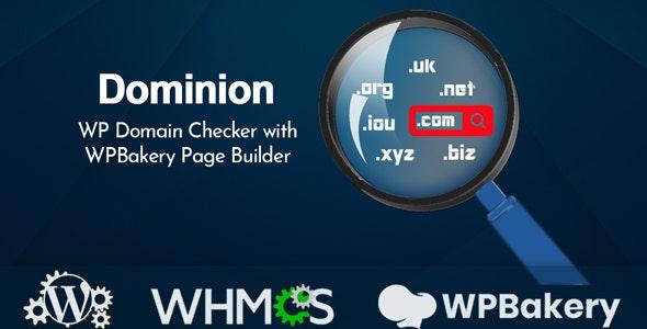 افزونه وردپرس جستجوی دامنه Dominion ورژن 1.2
