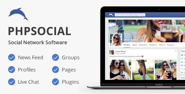 اسکریپت جامعه مجازی و شبکه اجتماعی