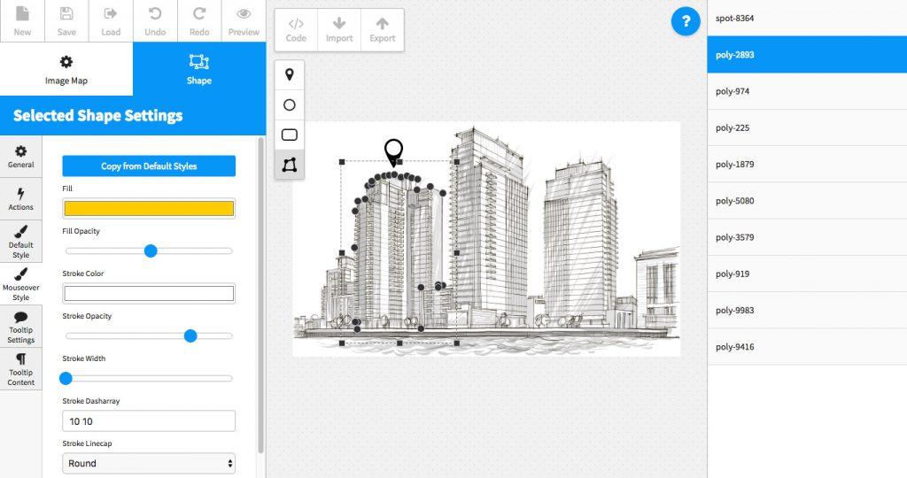 افزونه وردپرس ایجاد نقشه تصویر Image Map Pro