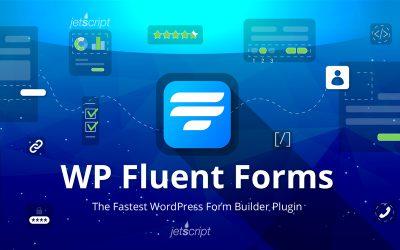 افزونه فرم ساز حرفه ای وردپرس WP Fluent Forms Pro ورژن 3.5.1