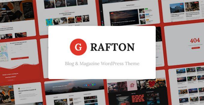 قالب وردپرس مجله و بلاگ Grafton