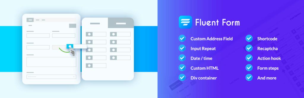 افزونه فرم ساز حرفه ای وردپرسWP Fluent Forms Pro