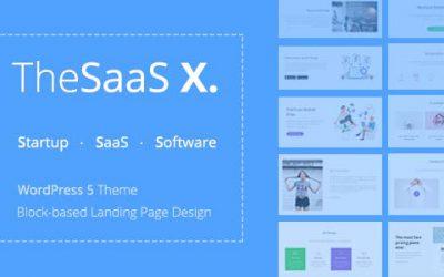قالب وردپرس چند منظوره و تجاری TheSaaS ورژن 1.1.4