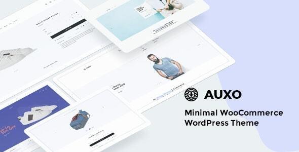 قالب ووکامرس خلاقانه Auxo با طراحی حرفه ای ورژن 1.0.4
